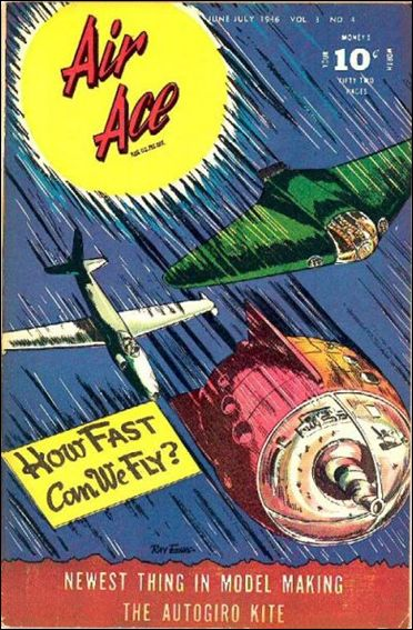Air Ace (1945) 4-A by Street and Smith Publications