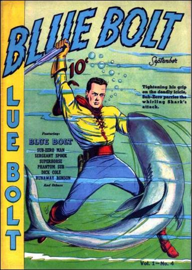 Blue Bolt (1940) 4-A by Novelty Press