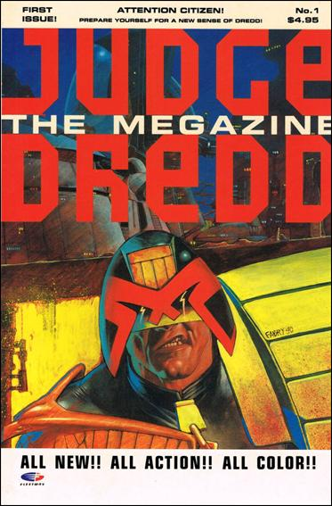 Judge Dredd Megazine (1990) 1-B by Fleetway