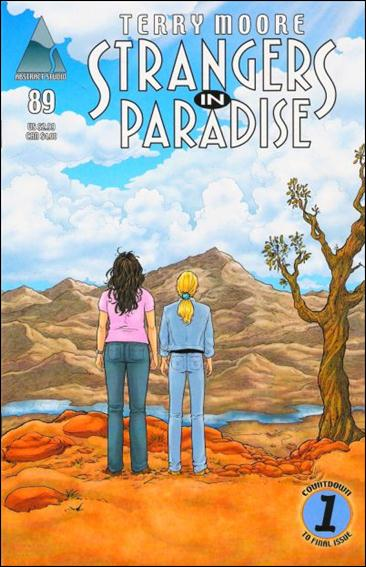 Terry Moore's Strangers in Paradise 89-A by Abstract Studio