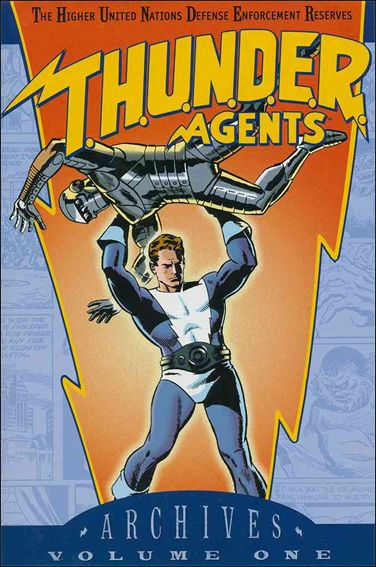 T.H.U.N.D.E.R. Agents Archives 1-A by DC