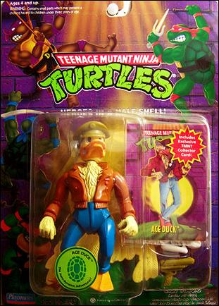 Teenage Mutant Ninja Turtles (1988) Ace Duck (1994 Re-Issue) by Playmates