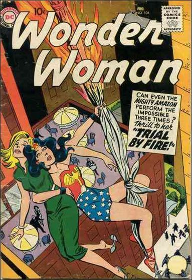 Wonder Woman (1942) 104-A by DC