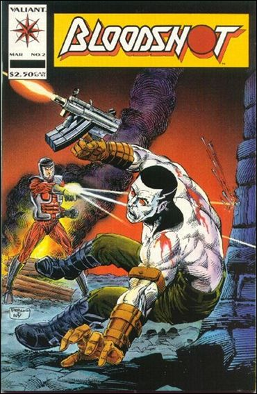 Bloodshot (1993) 2-A by Valiant