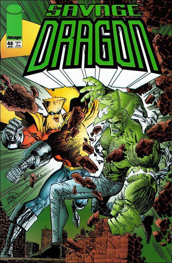 Savage Dragon (1993) 48-A by Image