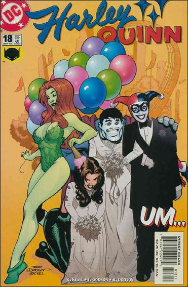 Harley Quinn (2000) 18-A by DC