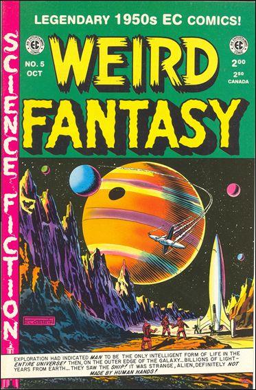 Weird Fantasy (1992) 5-A by RCP