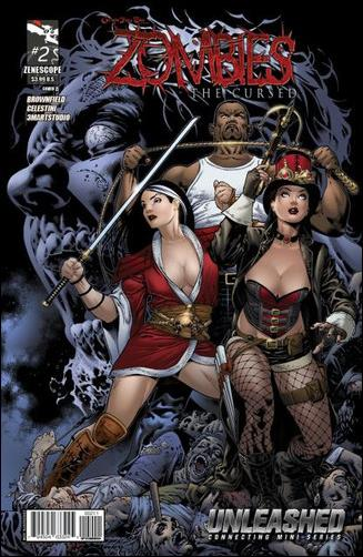 Grimm Fairy Tales Presents Zombies: The Cursed 2-A by Zenescope Entertainment