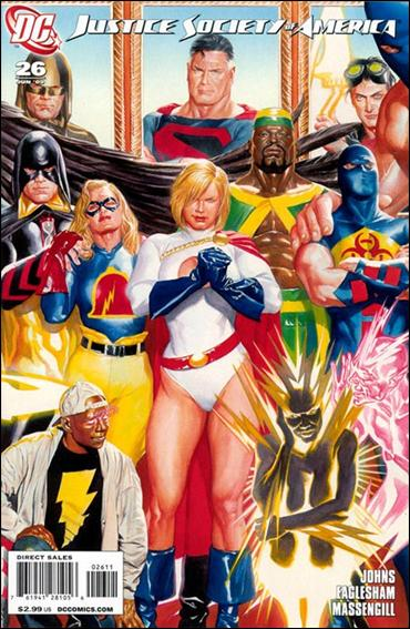 Justice Society of America (2007) 26-C by DC