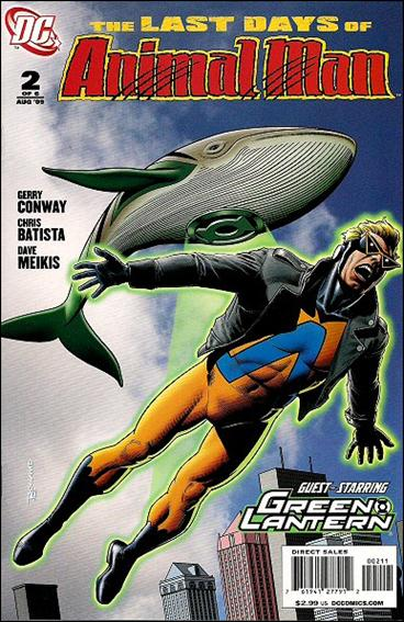 Last Days of Animal Man 2-A by DC