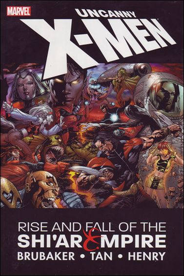 Uncanny X-Men: Rise & Fall of the Shi'ar Empire 1-A by Marvel