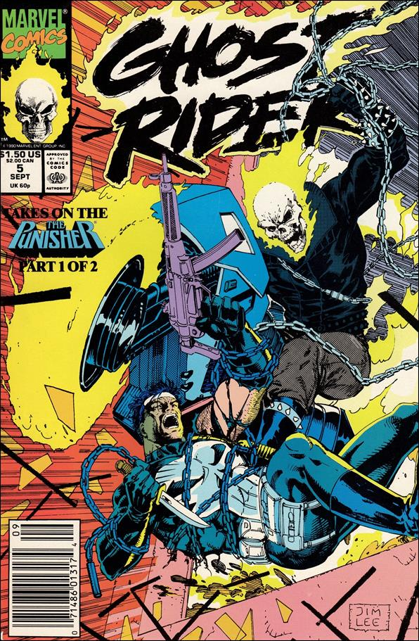 Ghost Rider (1990) 5-A by Marvel