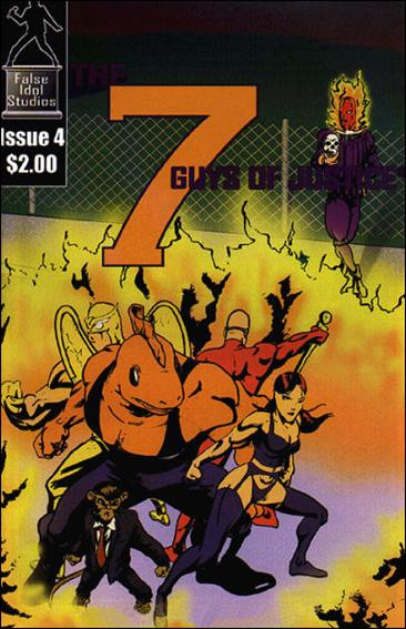 7 Guys of Justice 4-A by False Idol Studios
