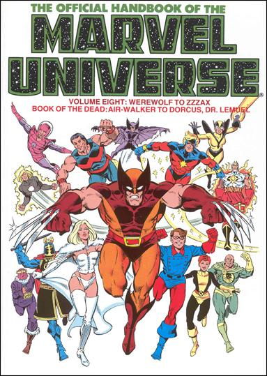 Official Handbook of the Marvel Universe 8-A by Marvel