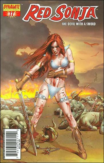 Red Sonja (2005) 17-B by Dynamite Entertainment