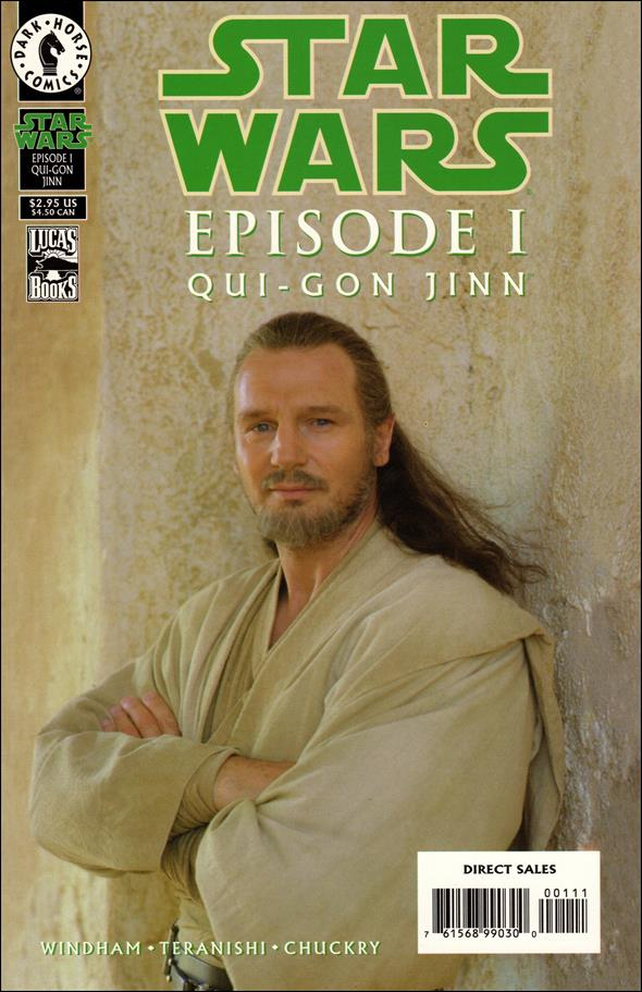 Star Wars: Episode I Qui-Gon Jinn nn-B by Dark Horse