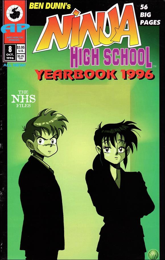 Ninja High School Yearbook (1993) 8-Z-INVALID by Eternity