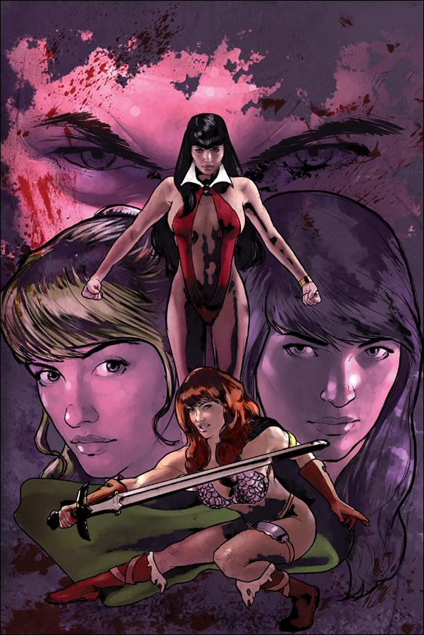 Red Sonja and Vampirella Meet Betty and Veronica 1-O by Dynamite Entertainment