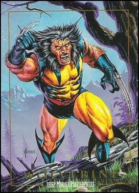 1992 Marvel Masterpieces (Promo) 98-A by SkyBox