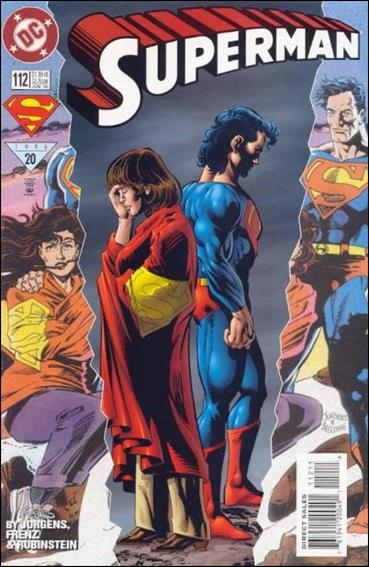 Superman (1987) 112-A by DC