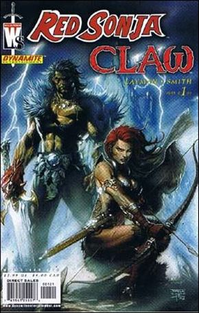 Red Sonja/Claw: The Devil's Hands 1-B