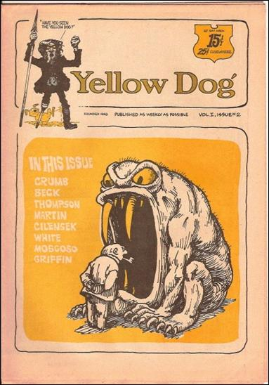 Yellow Dog 2-A by Print Mint