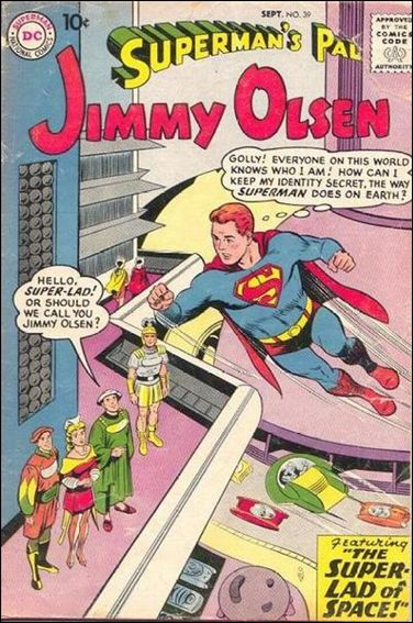 Superman's Pal Jimmy Olsen 39-A by DC
