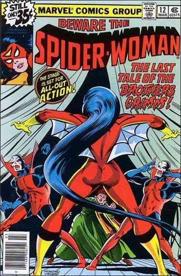 Spider-Woman (1978) 12-A by Marvel