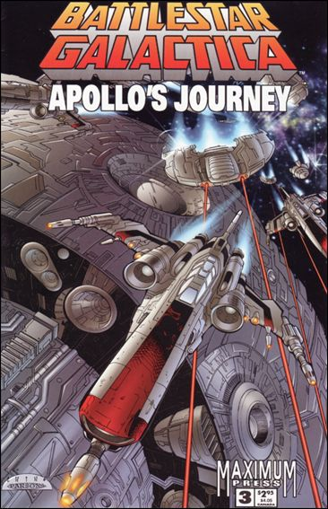 Battlestar Galactica: Apollo's Journey 3-A by Maximum Press