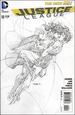 Justice League (2011) 12-E by DC