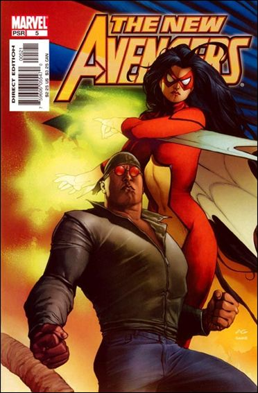 New Avengers (2005) 5-B by Marvel