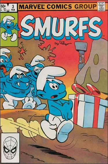 Smurfs (1982) 3-A by Marvel