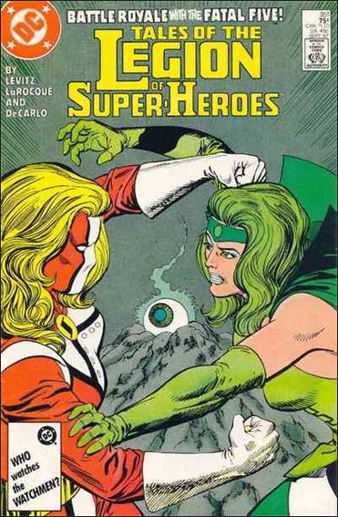 Tales of the Legion of Super-Heroes 351-A by DC