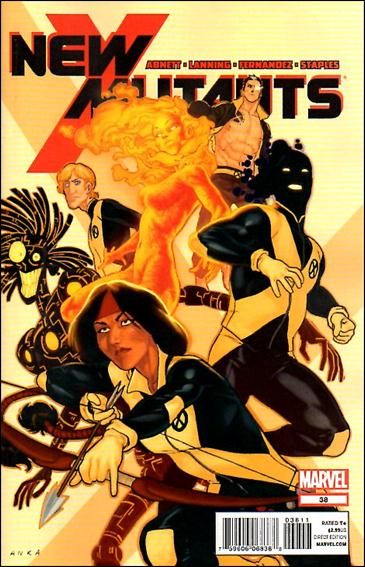 New Mutants (2009) 38-A by Marvel