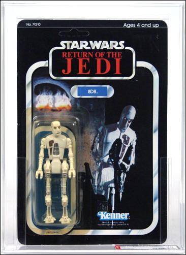 """Star Wars 3 3/4"""" Basic Action Figures (Vintage) 8D8 (ROTJ) by Kenner"""