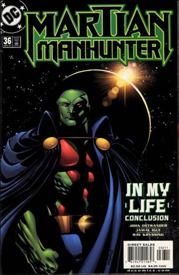 Martian Manhunter (1998) 36-A by DC
