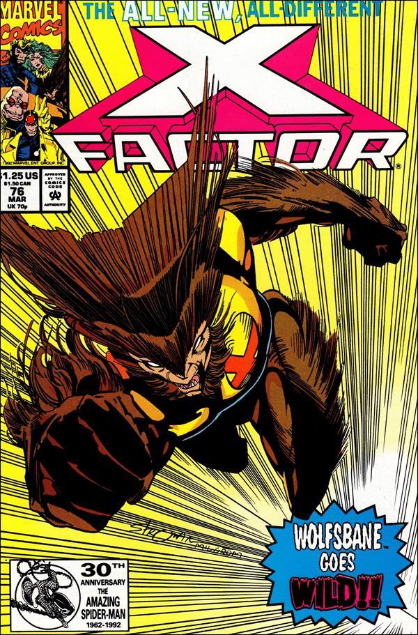 X-Factor (1986) 76-A by Marvel