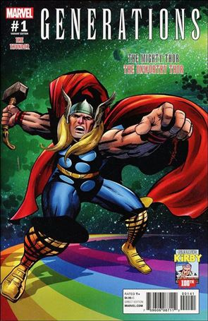 Generations: The Unworthy Thor & The Mighty Thor 1-D