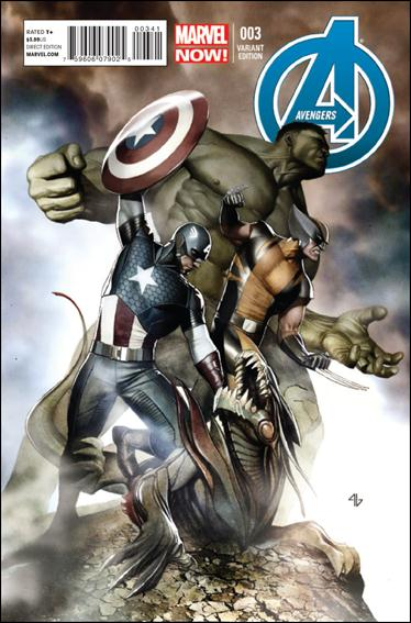 Avengers (2013) 3-B by Marvel