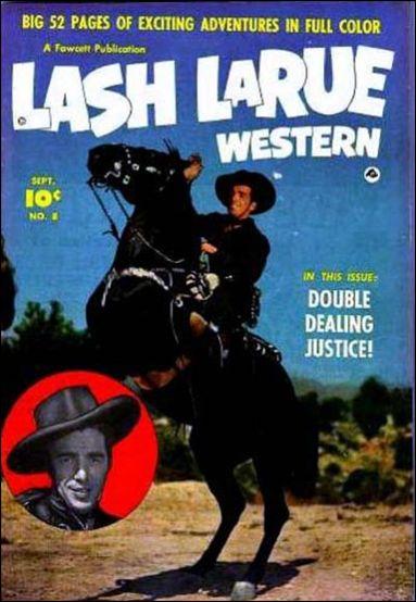 Lash LaRue Western 8-A by Fawcett