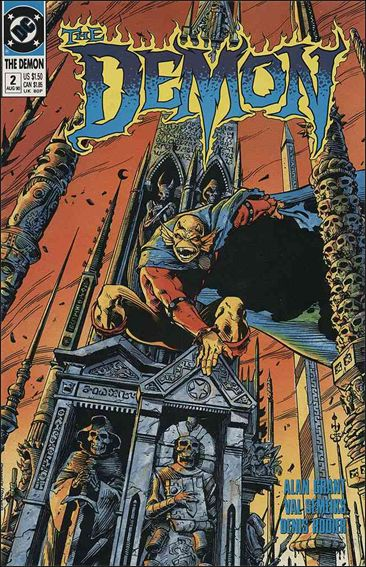 Demon (1990) 2-A by DC