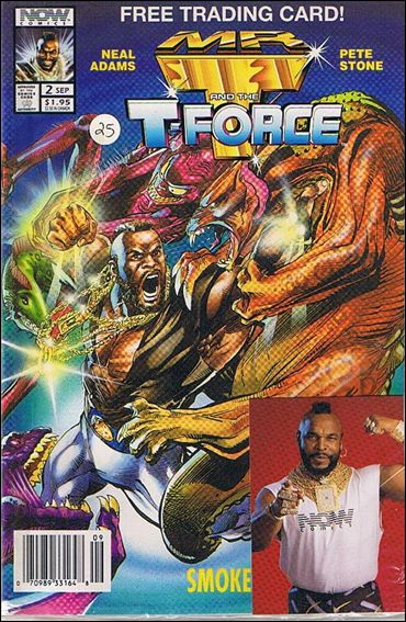 Mr. T and the T-Force 2-B by Now Comics