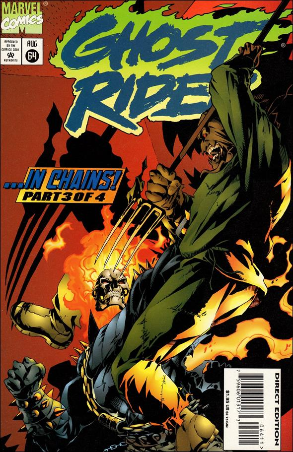 Ghost Rider (1990) 64-A by Marvel