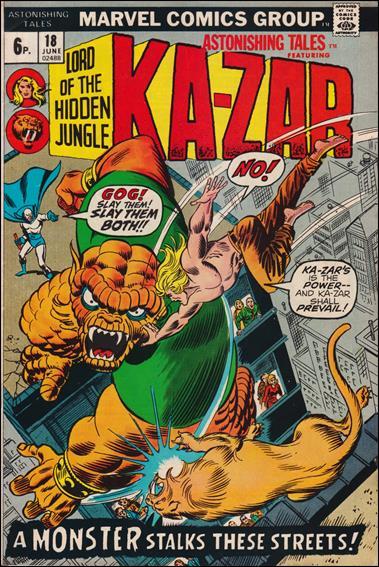 Astonishing Tales (1970) 18-B by Marvel