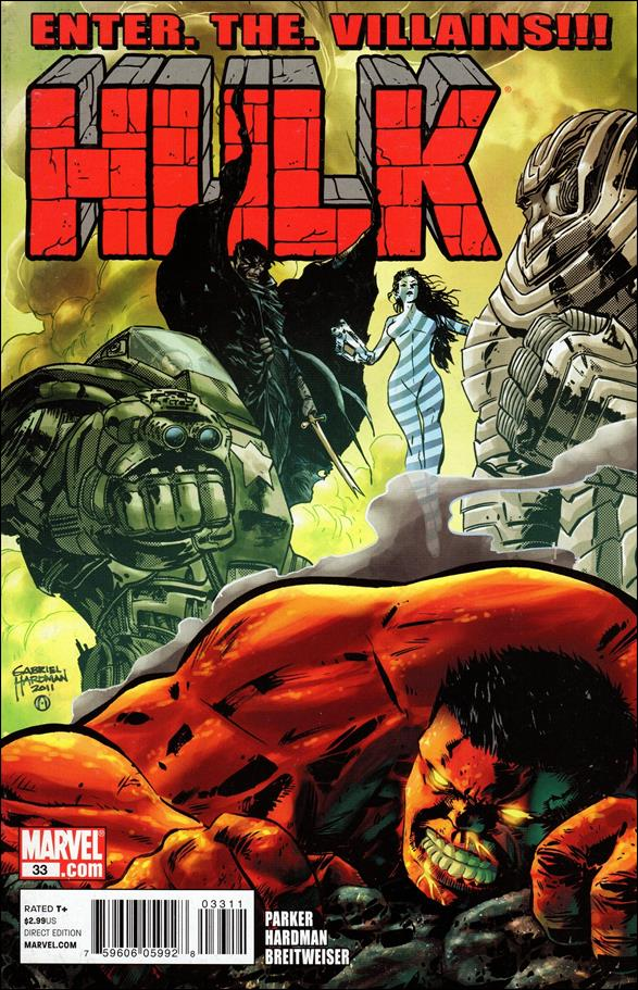 Hulk (2008)  33-A by Marvel