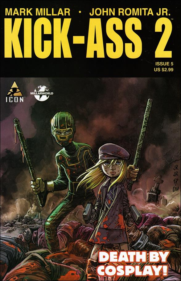 Kick-Ass 2 5-A by Icon