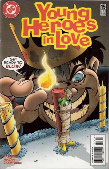 Young Heroes in Love 15-A by DC
