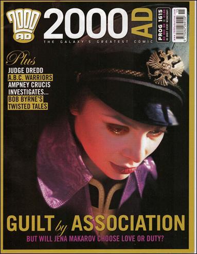 2000 A.D. (UK) 1615-A by Rebellion