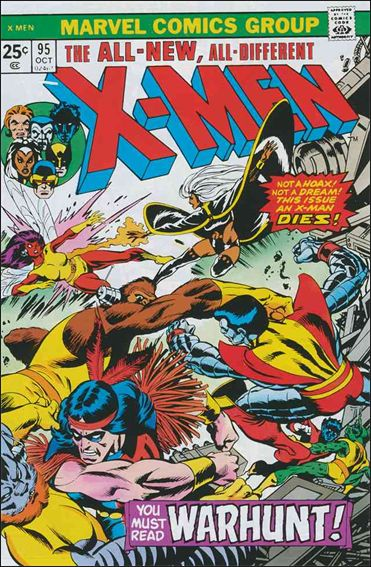 X-Men (1963) 95-A by Marvel