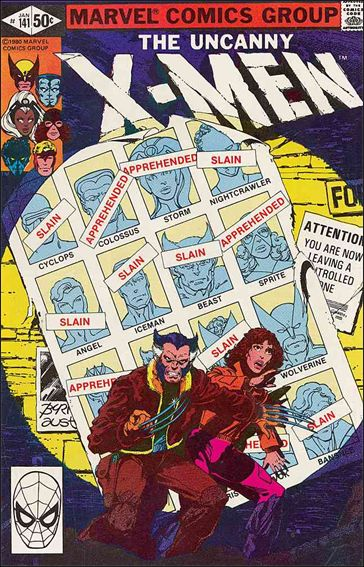 X-Men (1963) 141-A by Marvel